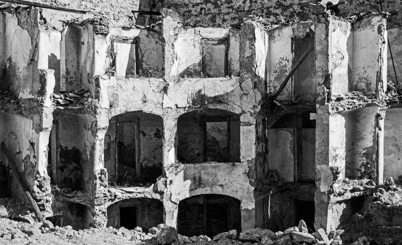 Rovine di Poggioreale vecchia, Valle del Belice, Sicilia, Roberto Lombino