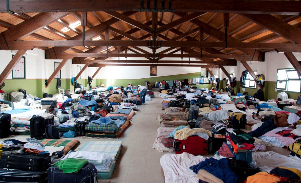 Dormitorio immigrazione, Missione Speranza e Carità, Palermo, Giacomo Palermo