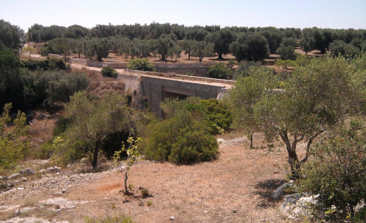 Ponte in località Li Fani di Salve, Lecce, Antonio Placido Buffelli