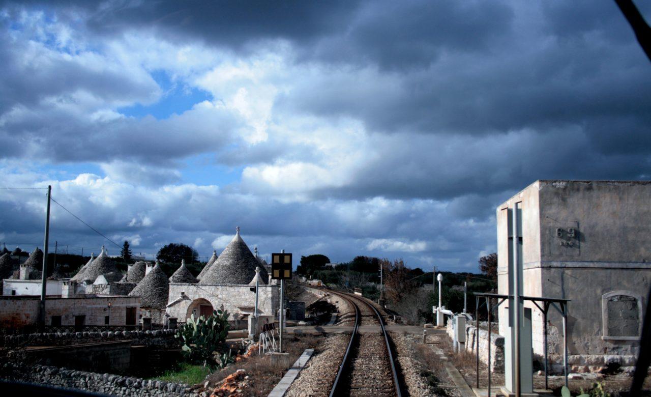 Alessandra Guttagliere, In treno Taranto – Bari