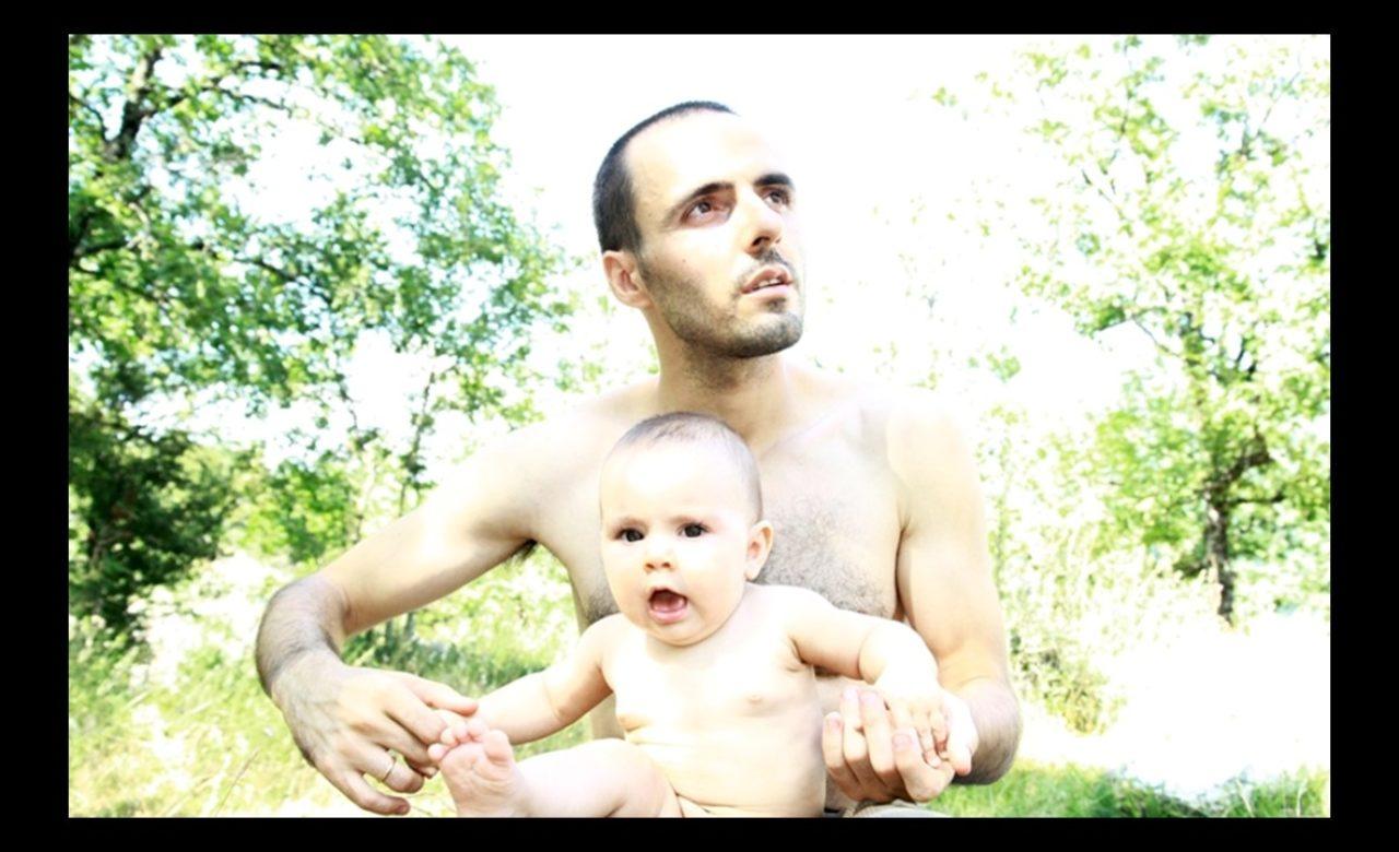 Alessia Capasso, Marco e sua figlia, nata dal matrimonio con la compagna russo-ucraina.
