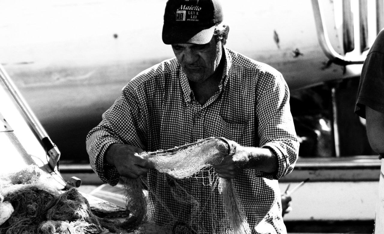 Andrea Materni, il pescatore, Ischia
