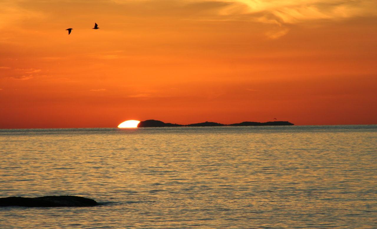 Andrea Materni, tramonti unici, Ischia