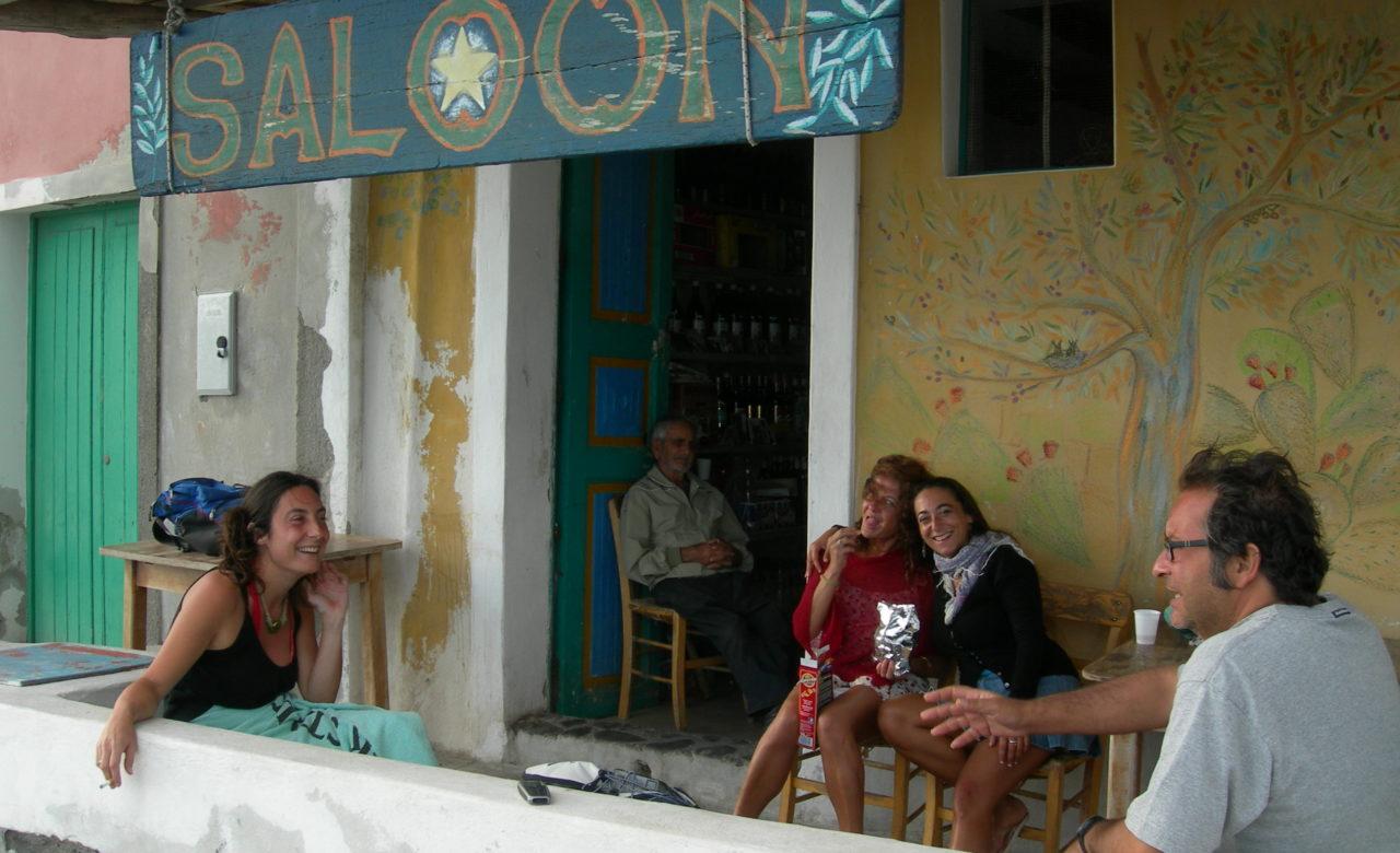 Cristina Lelli, Malvasia al Saloon, Isola di Filicudi (ME)