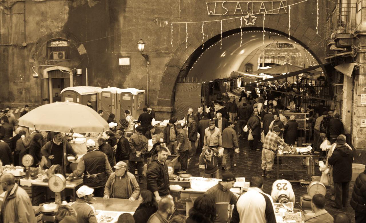 David Visicchio, W S.Agata, mercato del pesce, Catania