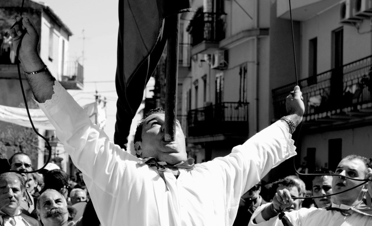 Enza Procopio, Badolato superiore processione della domenica di Pasqua (CZ)