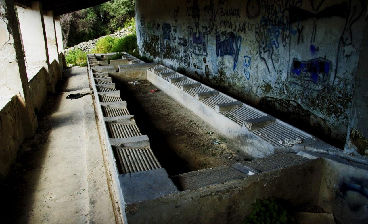 Fabiana Bellio, luoghi in disuso della Sicilia – i lavatoi