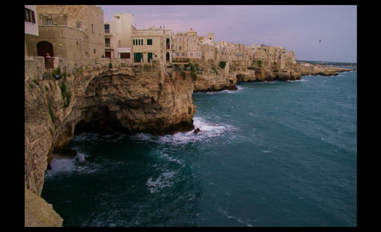 Falesie sul mare, Polignano a mare (Ba), Giuseppe Potenza