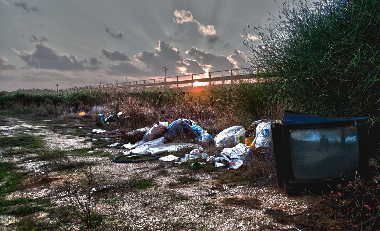 Gianluca Porta, Il tramonto sui rifiuti