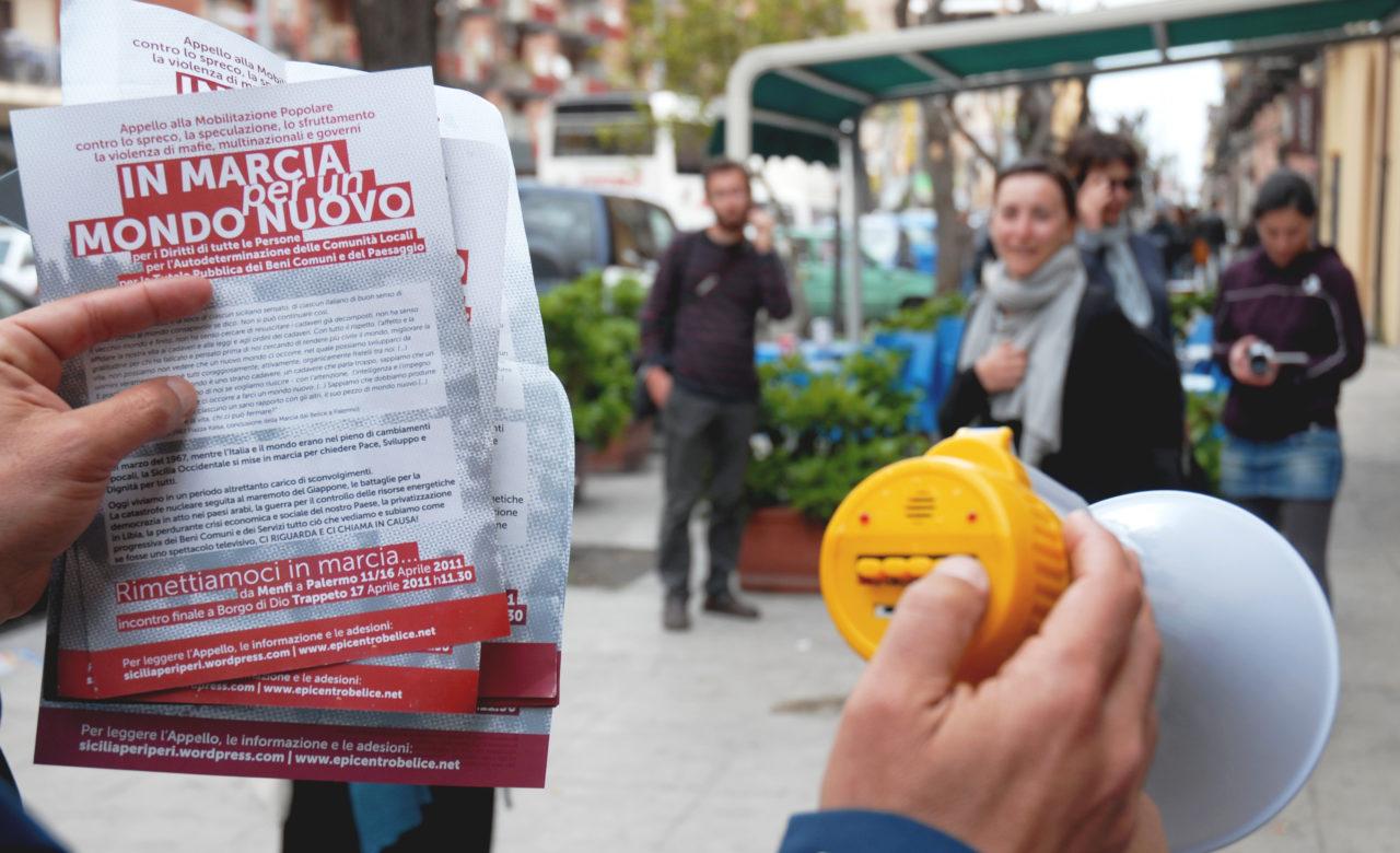 Giulia Fiocca, Siamo in marcia per un mondo nuovo, Palermo