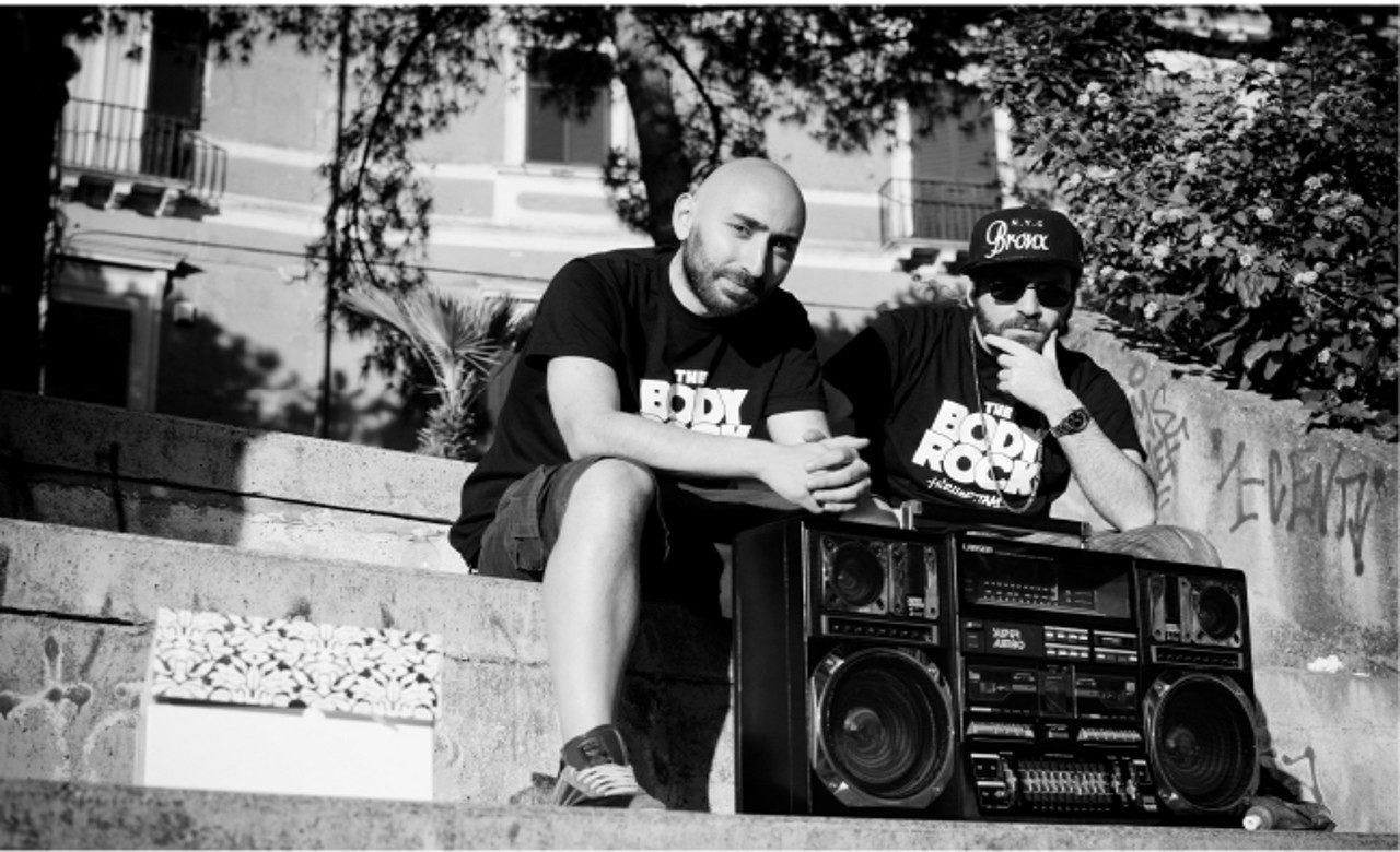 I rapper Emcee O'Zì e Fabio Farti, San Giovanni a Teduccio (NA), Gaetano Massa