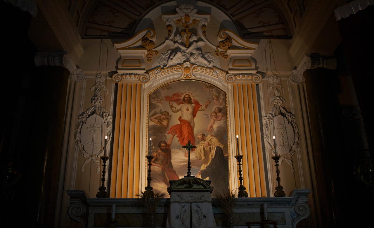 I tesori di Vasto la chiesa di Santa Filomena, Federico Dessardo