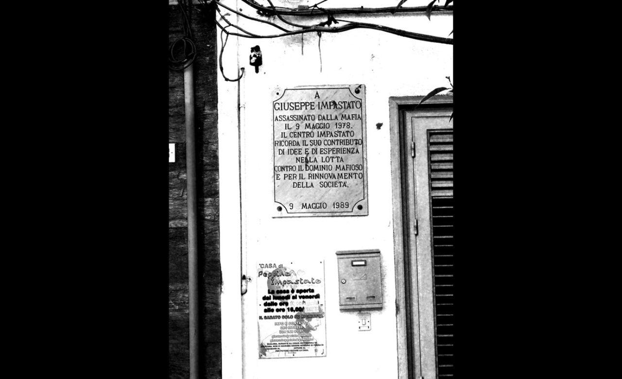 Massimiliano De Giorgi – Vorrei un Sud legalitario, Casa Impastato Cinisi (Pa)