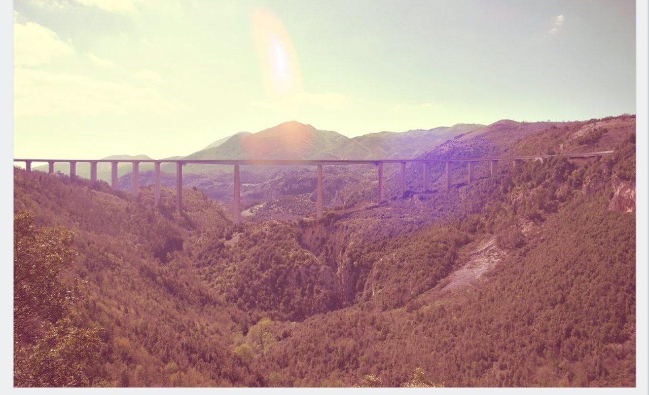 Michele Battilomo, Autostrada del sole, la eterna incompiuta, Laino Castello (PZ)