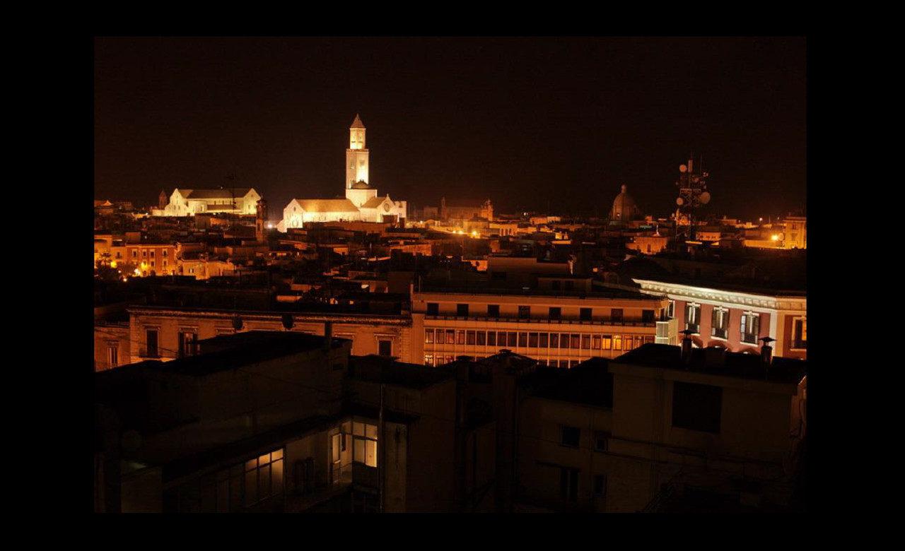 Panorama notturno, cattedrale, Bari, Giuseppe Potenza