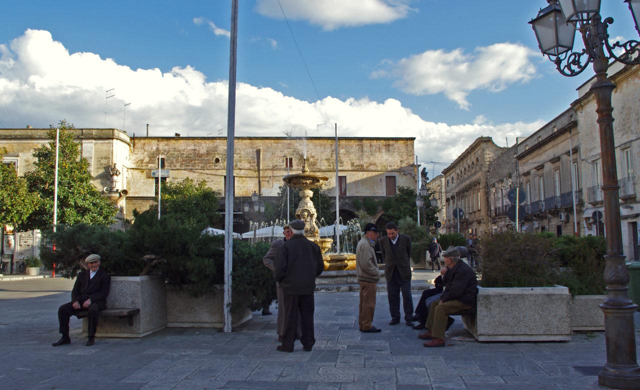 Pietro Carafa, Arredo urbano, Ceglie Messapica (BR)