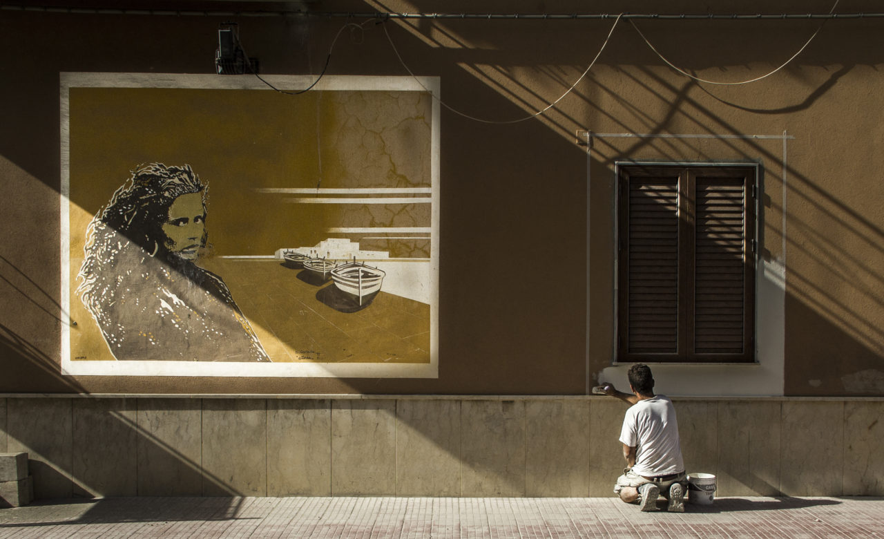 Pitture a confronto, Balestrate (PA), Antonino Novena