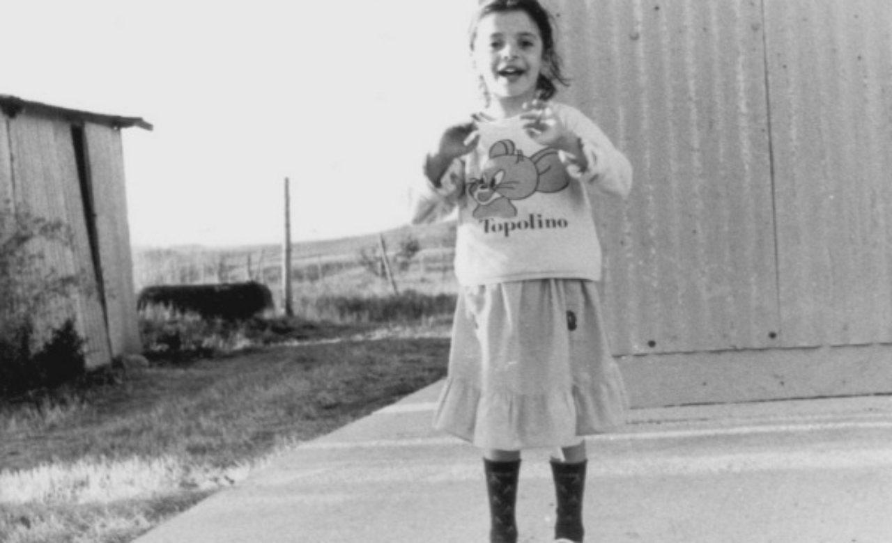 Salvo Intra, Ritratto di bambina, Lago Cecita (Cs)