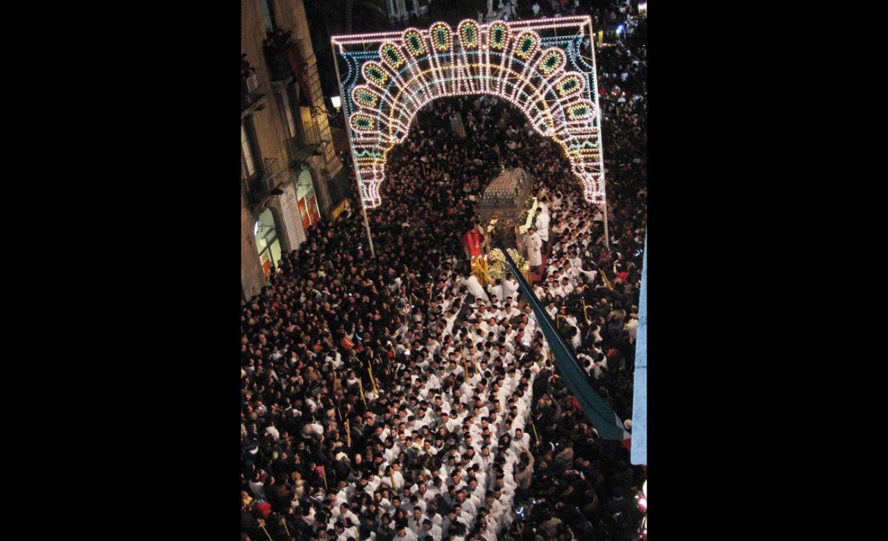 Silvia Scollo, Festa di Sant'Agata, Catania