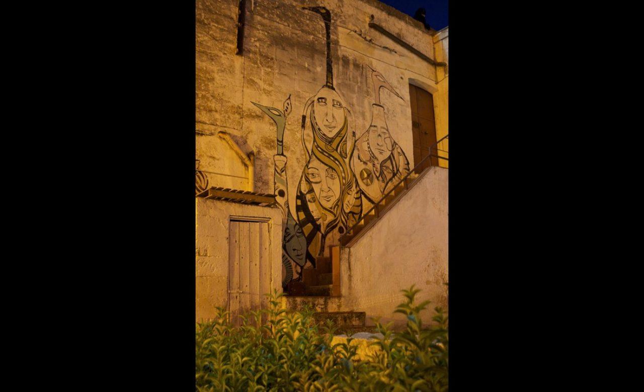 Street art, Grottaglie (TA), Serena Leone
