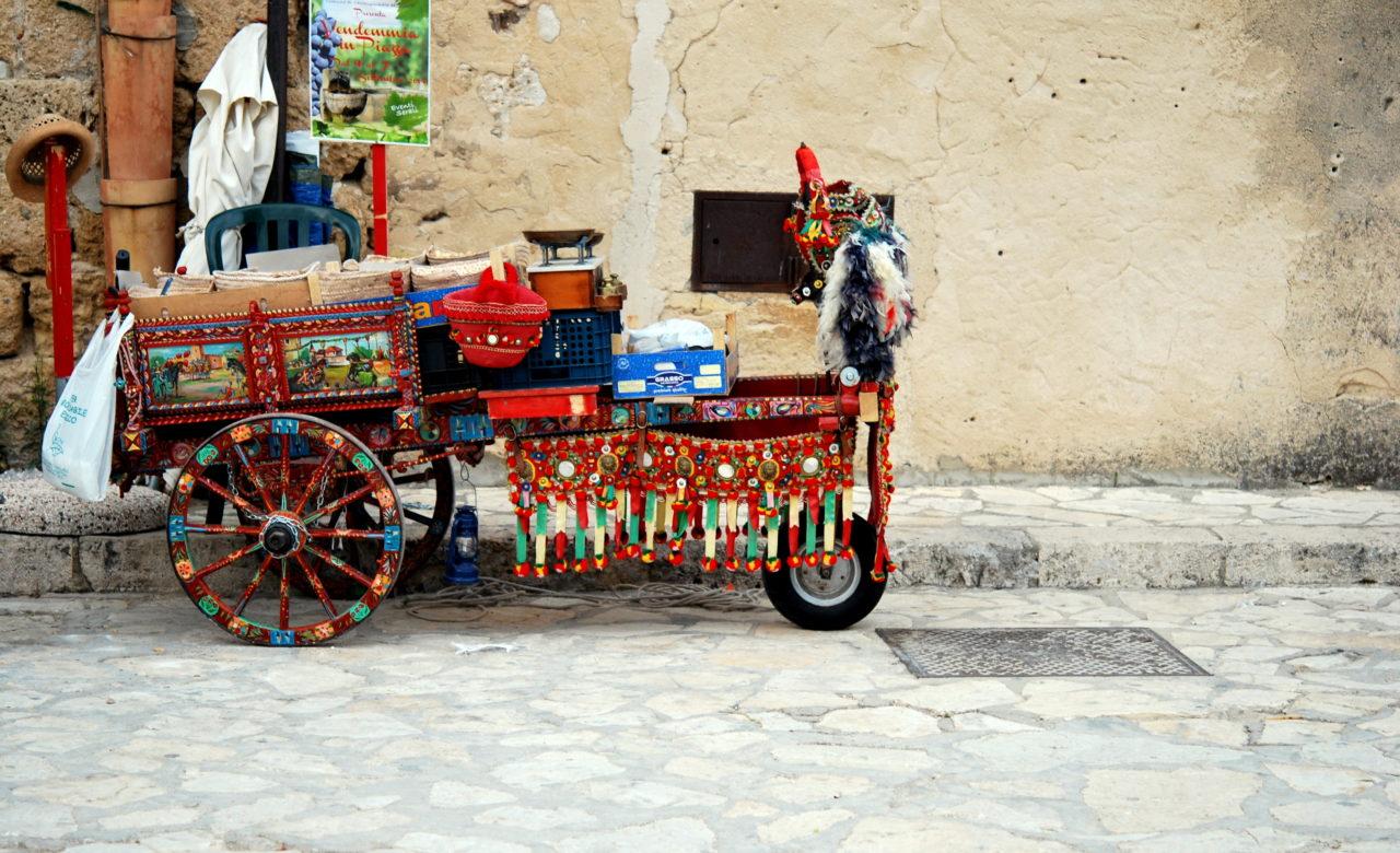 Tradizioni il carretto siciliano, Scopello (TP), Stefania Laratta