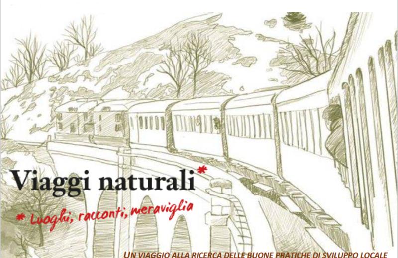 """La copertina del libro """"Viaggi Naturali"""""""