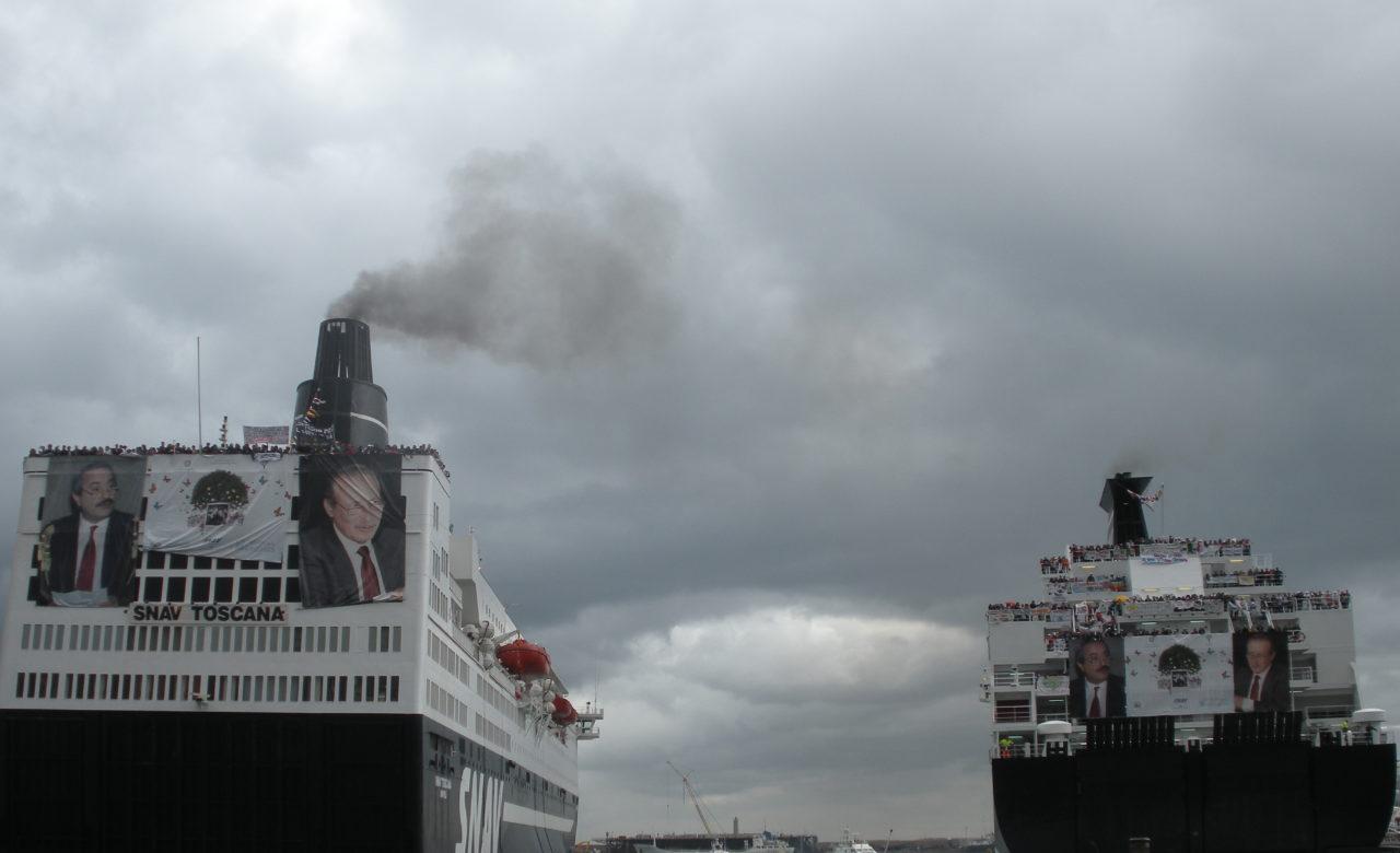 Viviana Bassan, Benvenuti, porto di Palermo