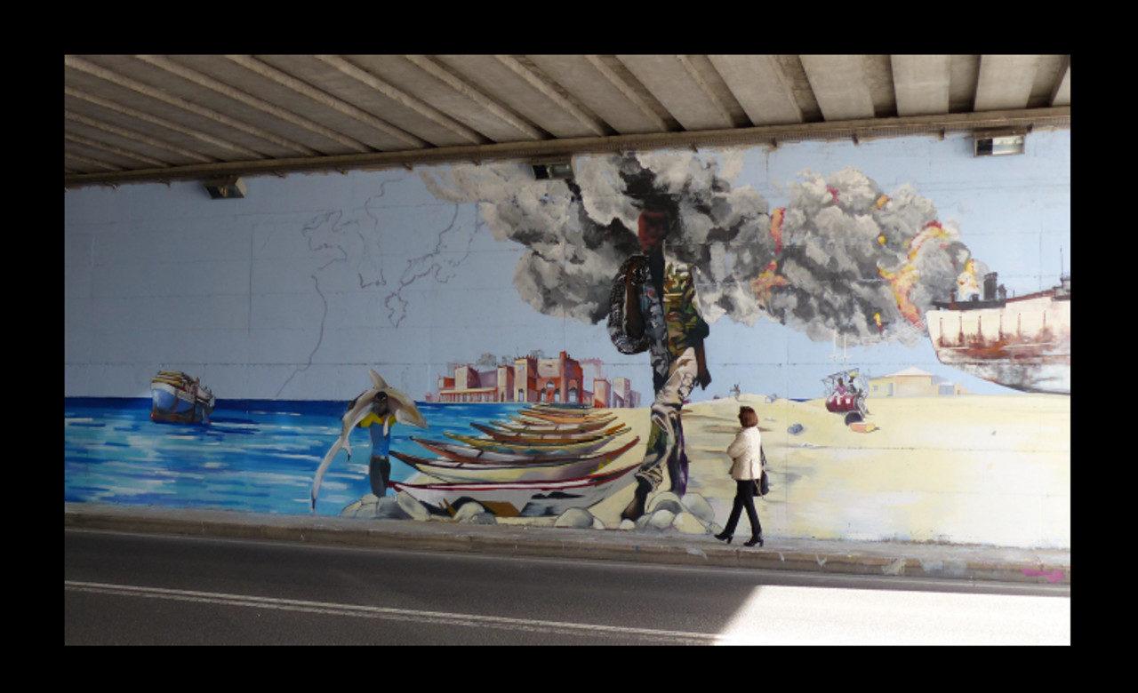 Antonella Gentile, Il viaggio, Murales di Smoe, Catanzaro Lido