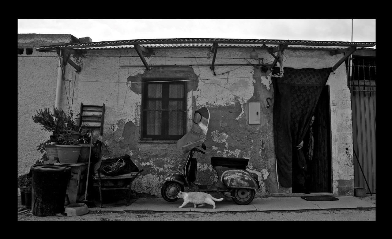Antonio Recupero,The Fisherman's House, Sardegna