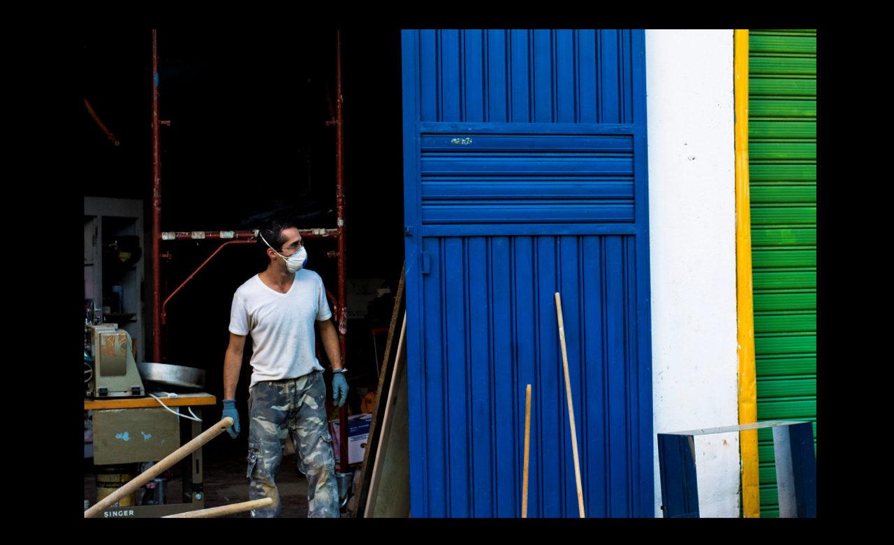 Francesco Cristiano, Uomo al Lavoro – Area Ex Officine Cosenza