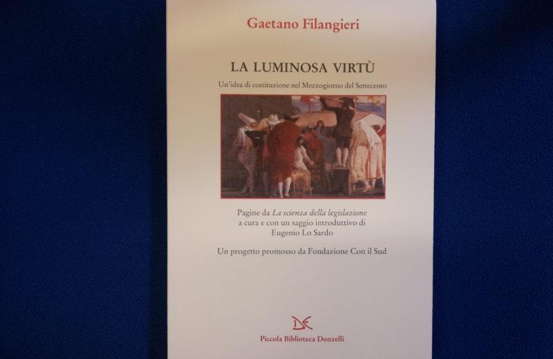 La luminosa virtù, immagine di copertina