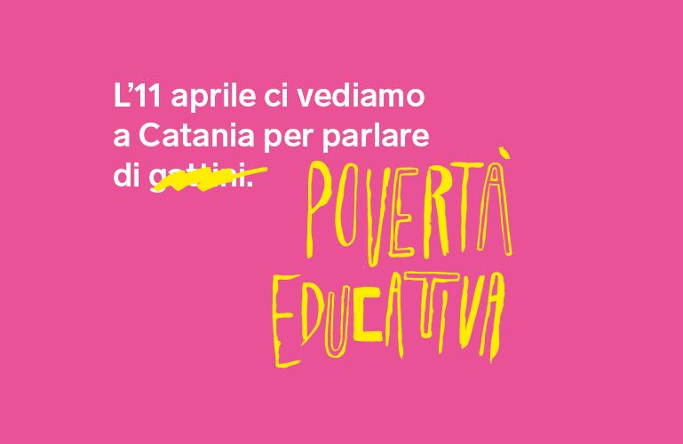#ConiBambini - Tutta un'altra storia, tappa di Catania