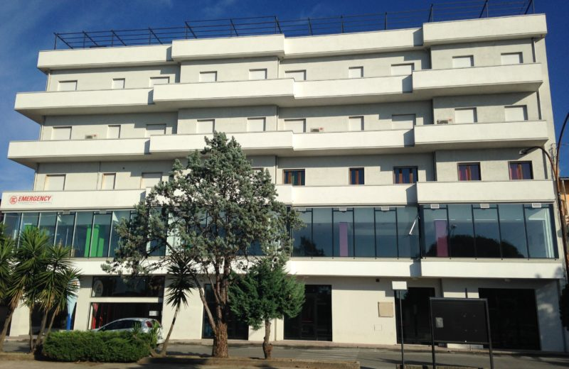An image of the building that hosts the centro Polifunzionale Padre Pino Puglisi