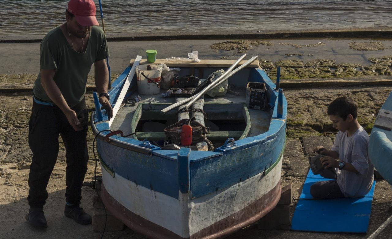 Fabio Pinelli,Timeless Boat Repairing, Favignana (TP)