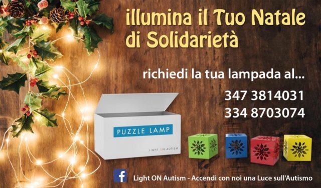 Lampada Light on Autism