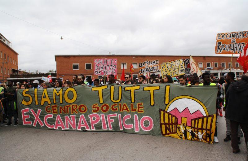 Dalla pagina Facebook Csa Ex Canapificio Caserta