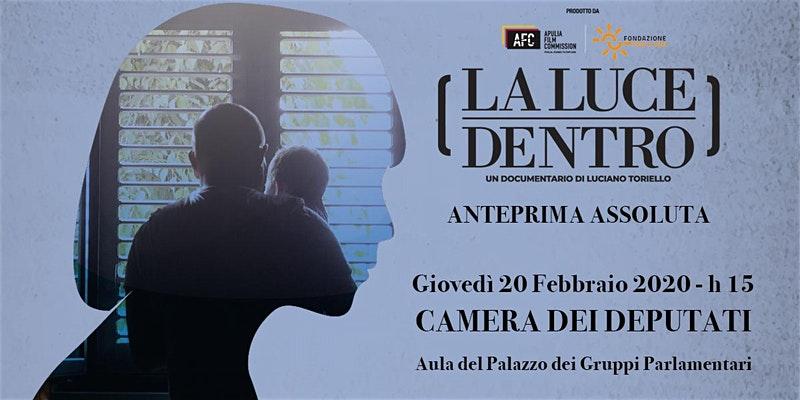 Il documentario la luce dentro proiettato alla camera for Camera dei deputati gruppi parlamentari