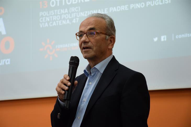 Carlo Borgomeo, presidente della Fondazione CON IL SUD
