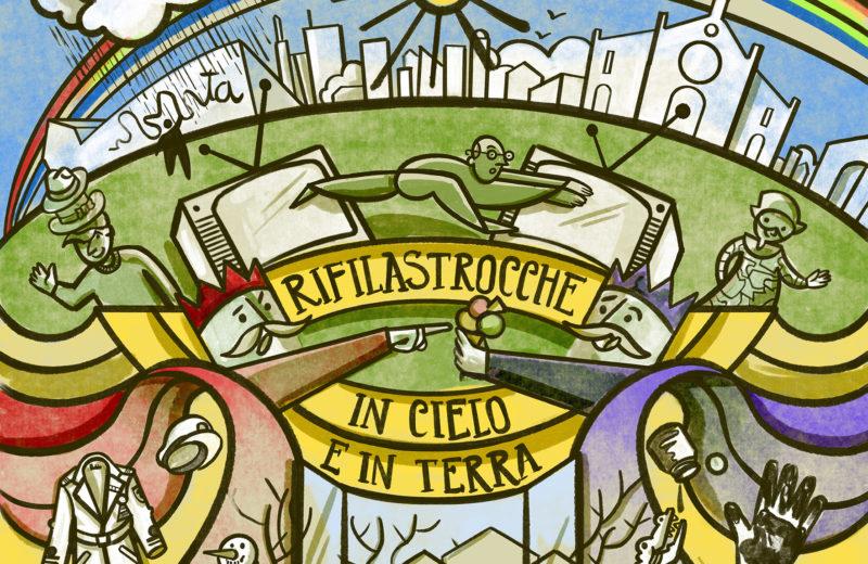 Cover dell'album Rifilastrocche in cielo e in terra